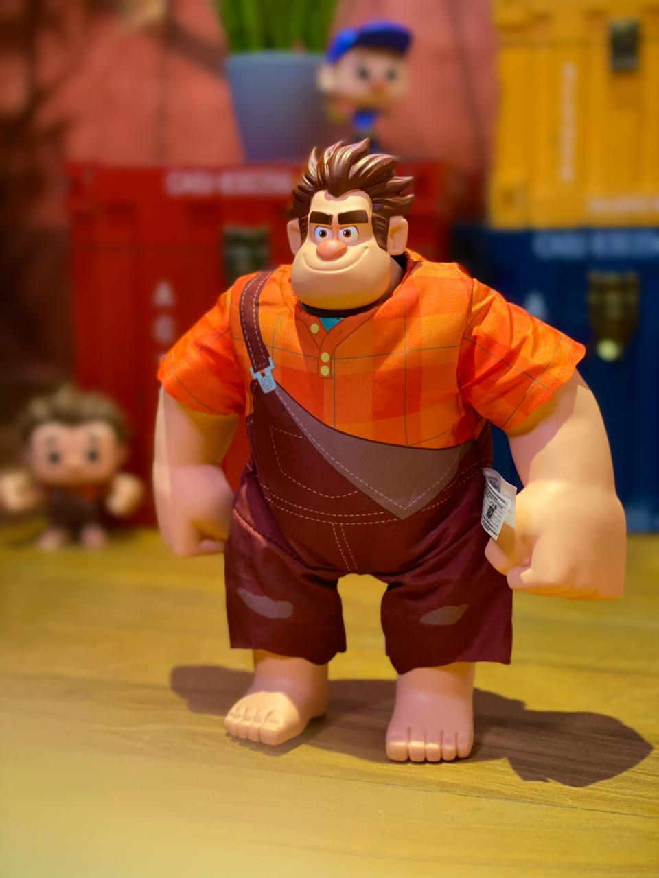 Boneco Detona Ralph (Wreck It Ralph): WiFi Ralph Quebrando a Internet (Ralph Breaks the Internet) Som e Movimento - Disney