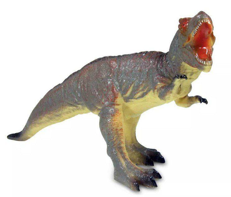 Boneco Dinossauro Tiranossauro Rex: Big Dinos (Bicho Mundi) - DTC
