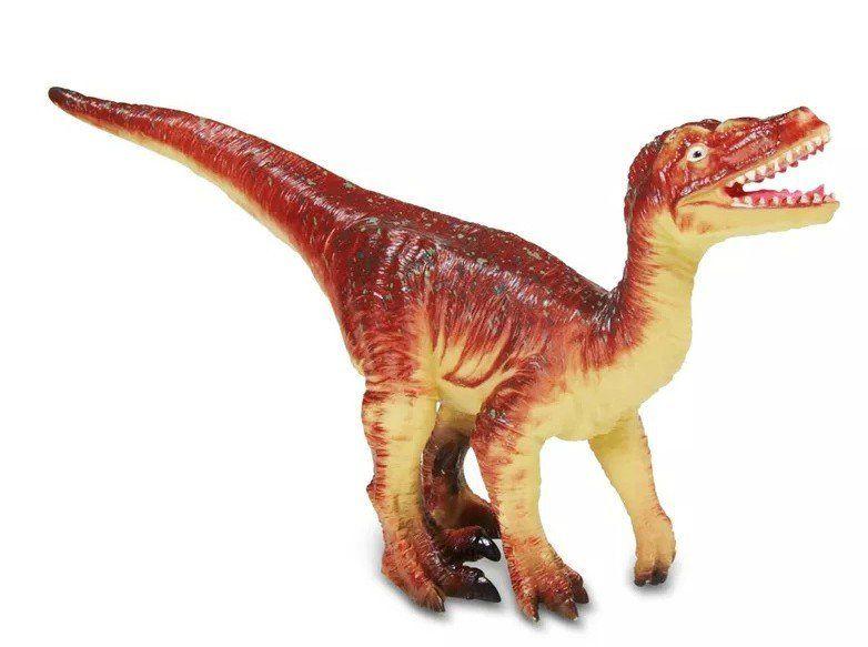 Boneco Dinossauro Velociraptor: Big Dinos (Bicho Mundi) - DTC