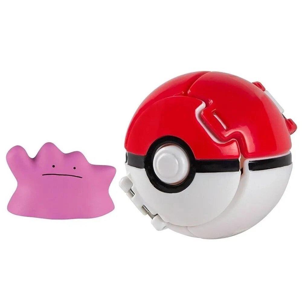 Boneco Ditto (Great Ball Pops): Pokémon - Sunny