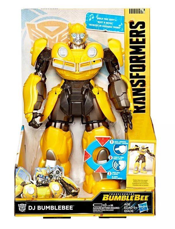 Boneco DJ Bumblebee: Transformers (Bumblebee) (Som e Movimento) - Hasbro