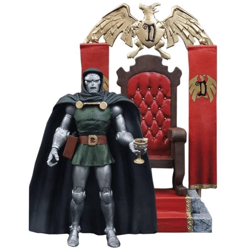 Boneco Dr. Doom: Marvel Select - Diamond Select - CG