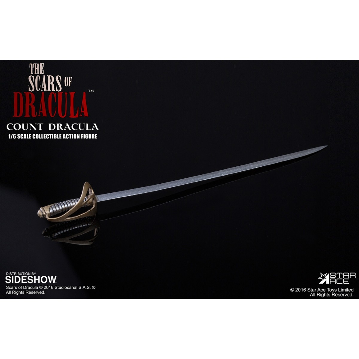 Boneco Drácula: O Conde Drácula Escala 1/6 - Star Ace - CD