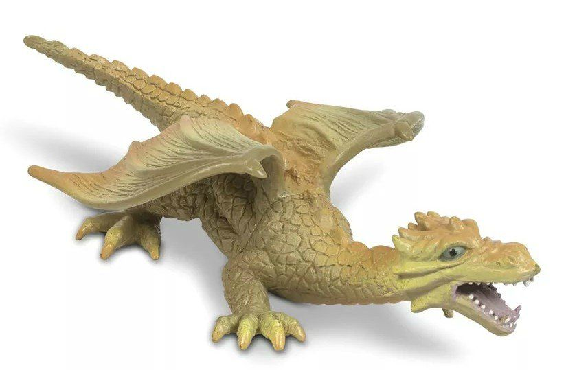Boneco Dragão (Laranja de Asa): Bicho Mundi - DTC