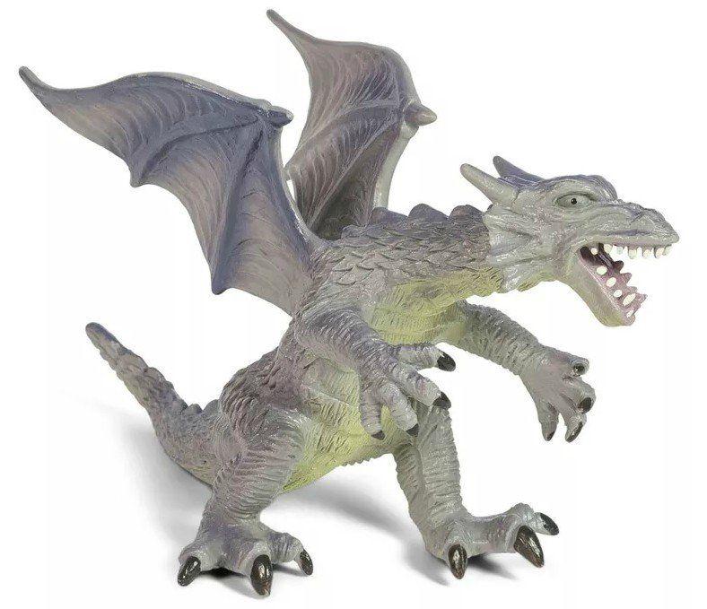 Boneco Dragão (Roxo de Asa): Bicho Mundi - DTC