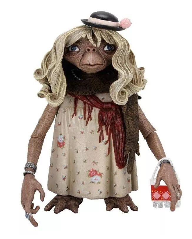 Action Figure E.T. (Dress-up): E.T. O Extraterrestre - Boneco Colecionável - Neca - CG