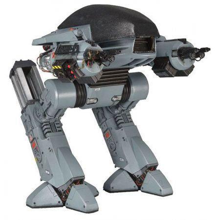 Action Figure ED-209 com Som: Robocop Escala 1/6 - Boneco Colecionável - Neca (Apenas Venda Online)