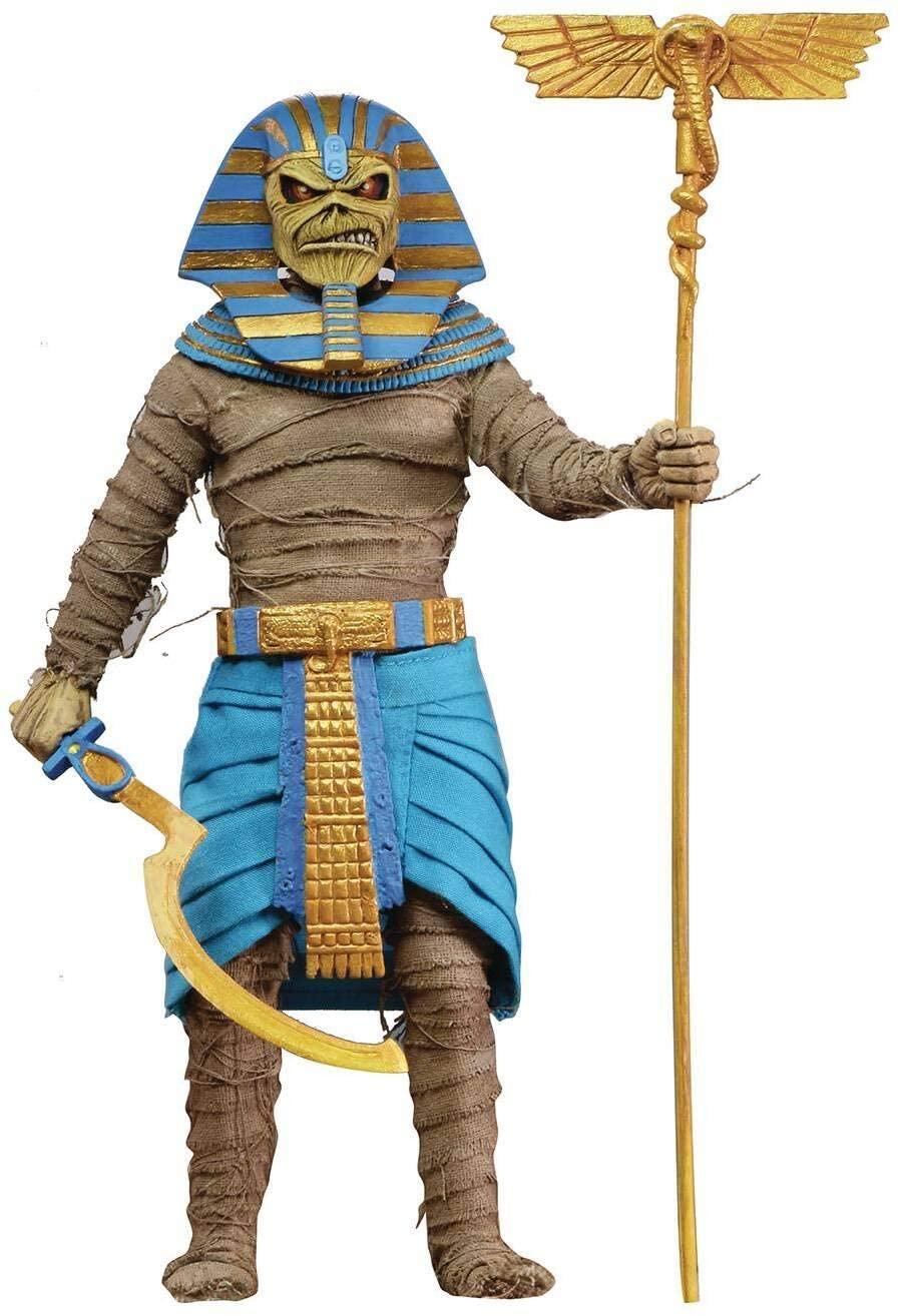 Boneco Eddie Pharaoh Iron Maiden - NECA