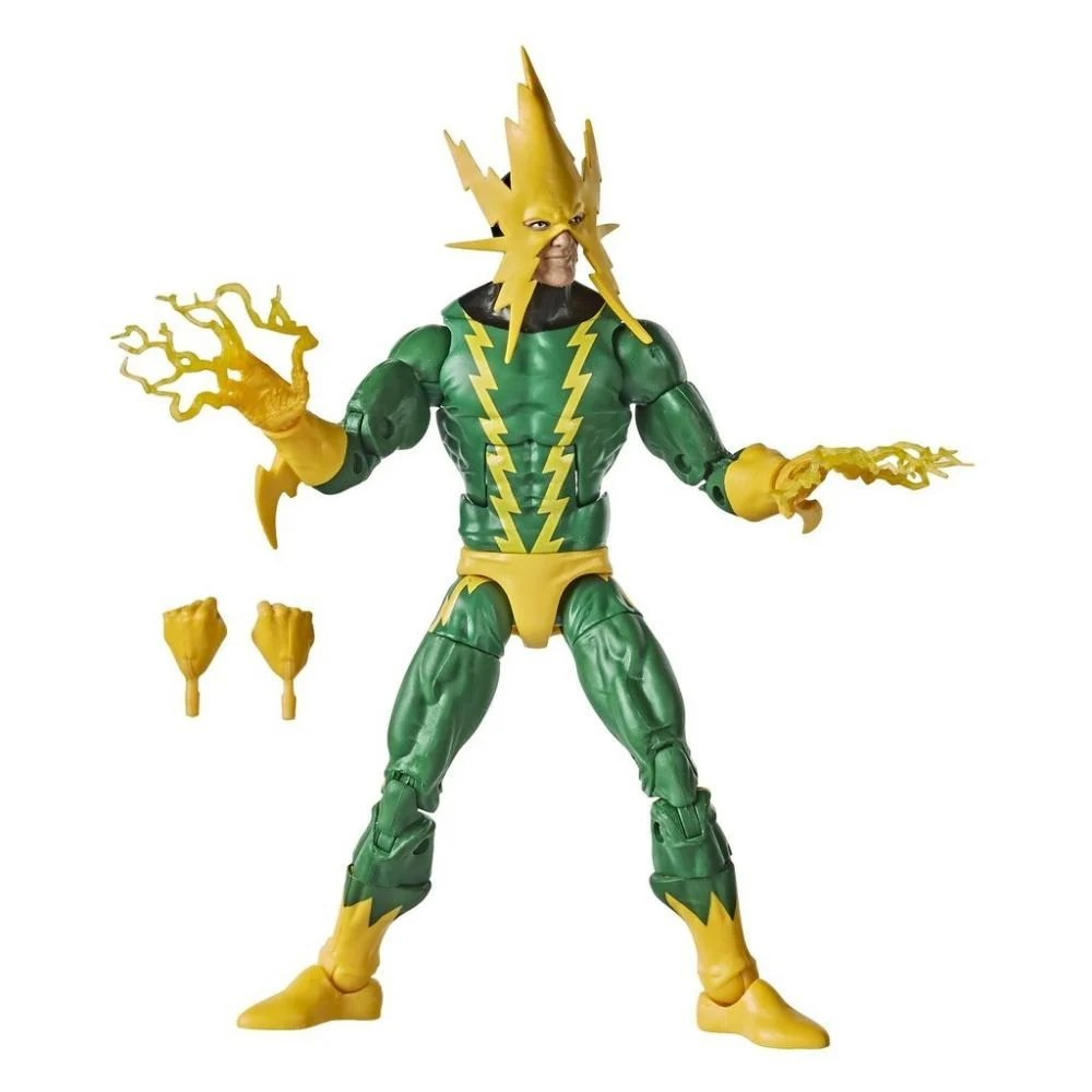 Action Figure Electro (Marvel´s Electro): Homem Aranha (Spider-Man) (Legends Vintage) - Hasbro