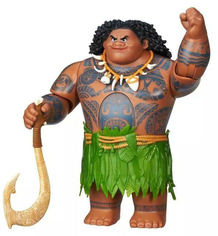 Boneco Eletrônico Maui: Moana (Disney) - Hasbro