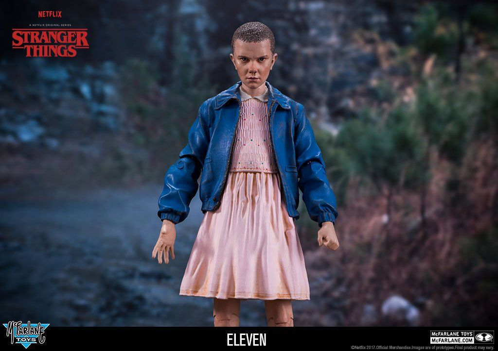 Boneco Eleven: Stranger Things - McFarlane