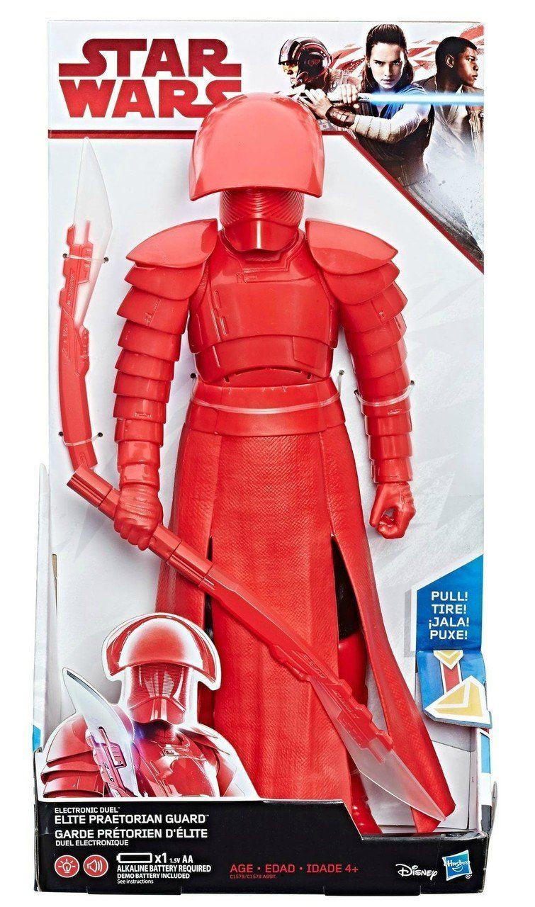 Boneco Elite Praetorian Guard (Duelo Eletrônico): Star Wars - Hasbro