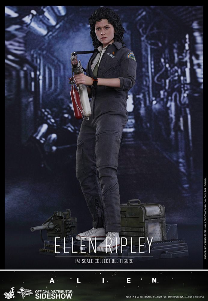 Boneco Ellen Ripley: Alien Movie Masterpiece Series 1/6 - Hot Toys