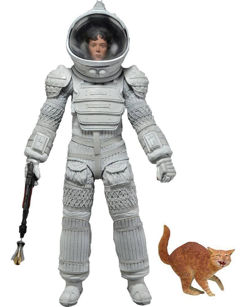 Boneco Ellen Ripley (Compression Suit): Alien Series 4 Escala 1/10 - Neca