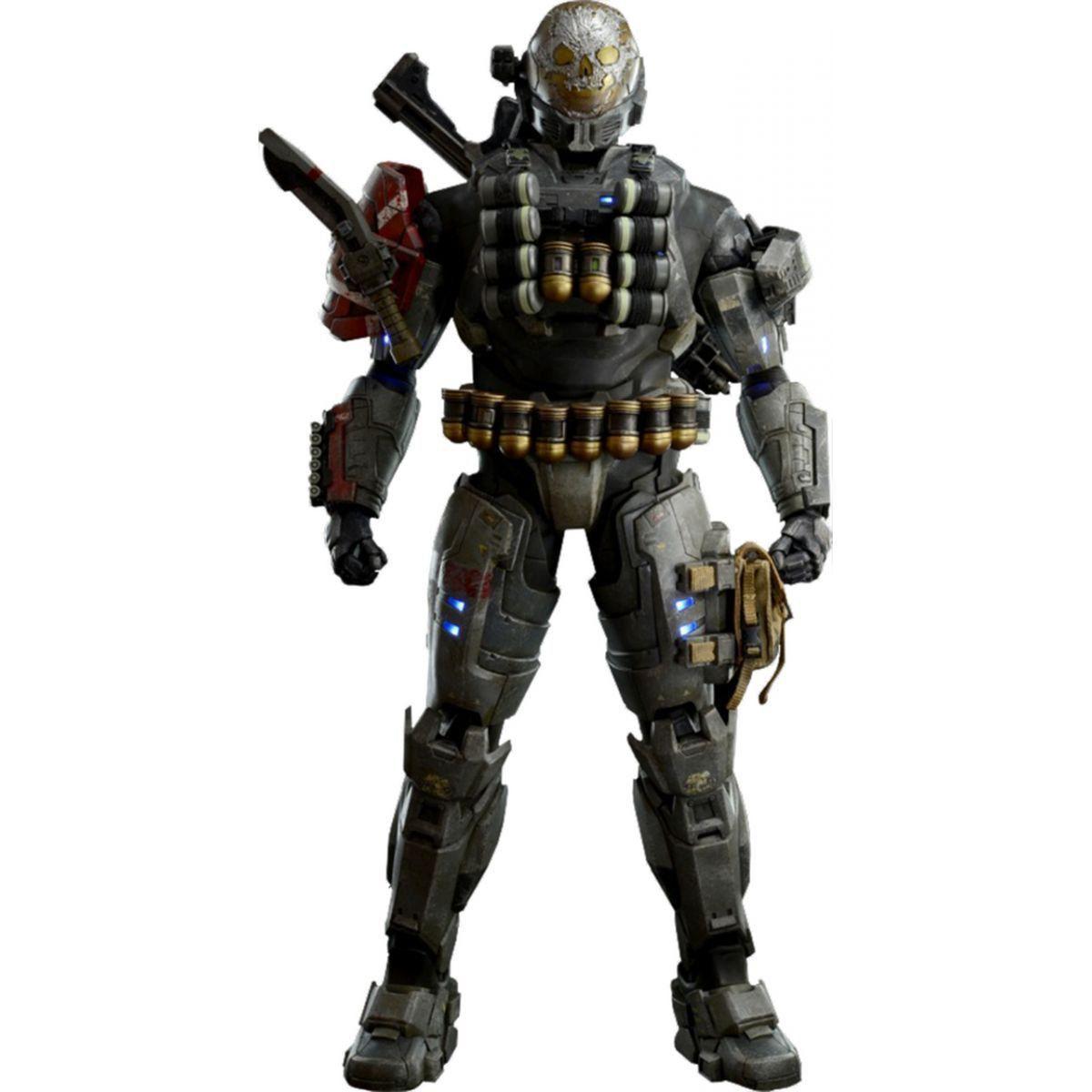 Boneco Emile Spartan III: Halo Reach Escala 1/6 - ThreeA - CD