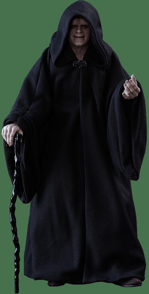 Action Figure Emperor Palpatine: Star Wars Return Of The Jedi (O Retorno de Jedi) MMS467 Escala 1/6 - Hot Toys