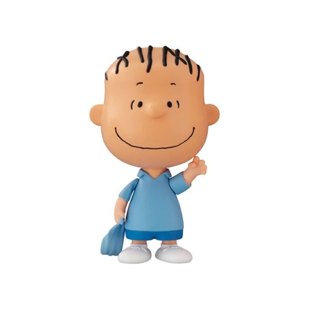Boneco Estátua Colecionável Linus van Pelt: Charlie Brown e Snoopy Peanuts - MKP