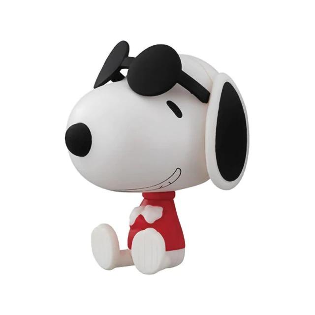 Boneco Estátua Colecionável Snoopy e Joe Cool: Charlie Brown Peanuts - MKP