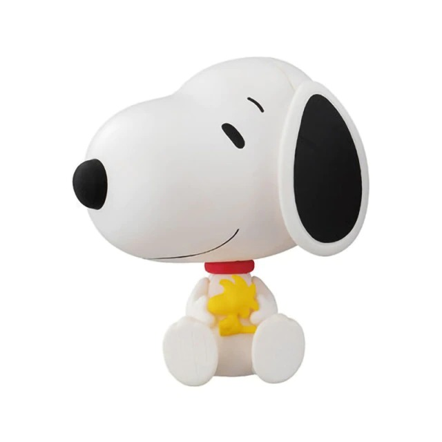Boneco Estátua Colecionável Snoopy e Woodstock: Charlie Brown Peanuts - MKP