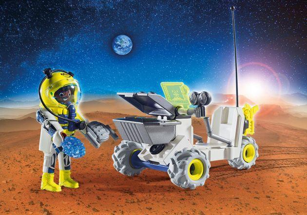 Playmobil Explorador e Triciclo Marciano: Playmobil Space - Sunny