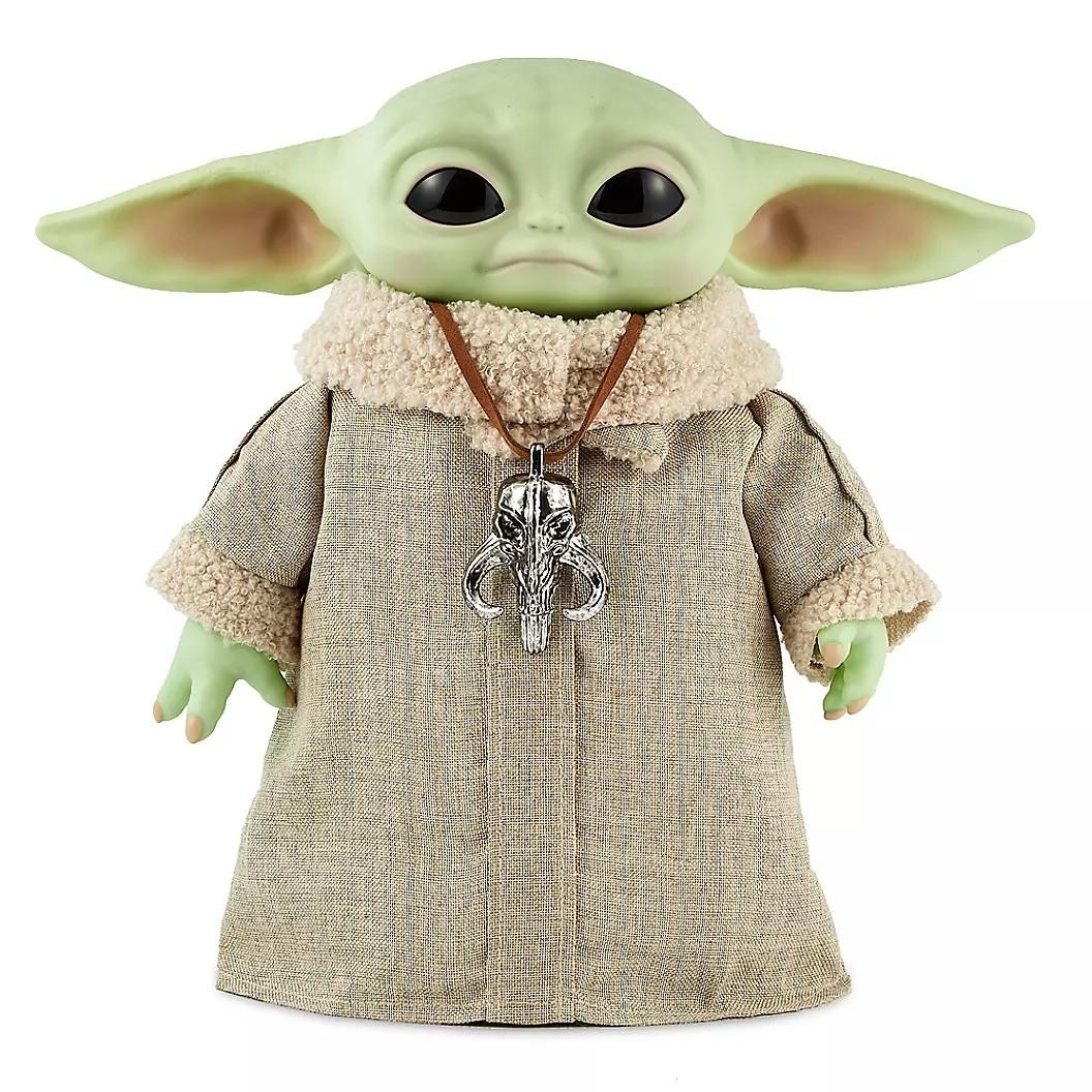 PRÉ VENDA: Boneco Falante de Controle Remoto Grogu Baby Yoda The Child: O Mandaloriano The Mandalorian - Mattel