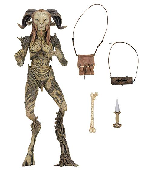 Action Figure Fauno: O Labirinto do Fauno (Pan's Labyrinth) Signature Collection - Escala: 1/10 - Boneco Colecionável - NECA