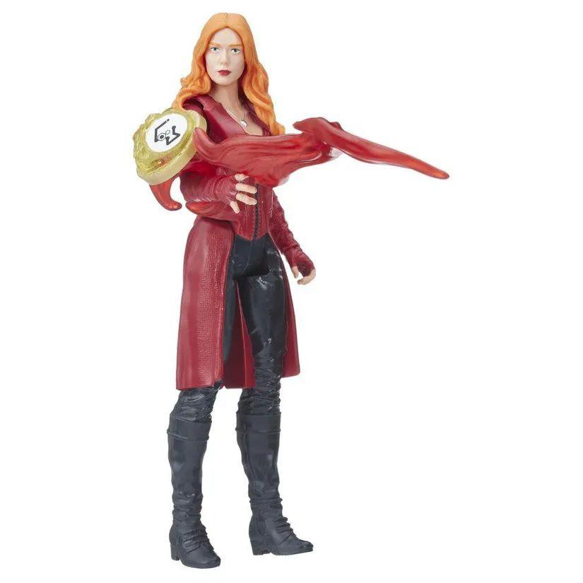 Boneco Feiticeira Escarlate (Scarlet Witch): Vingadores Guerra Infinita (Avengers Infinity War) Marvel - Hasbro