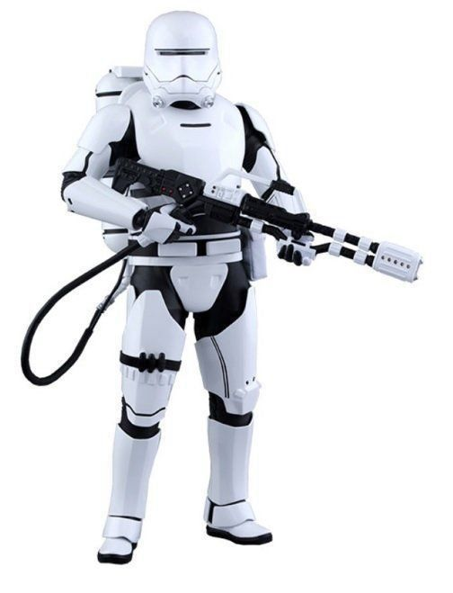 Action Figure First Order Flametrooper: Star Wars: O Despertar da Força Escala 1/6 (MMS326) - Hot Toys