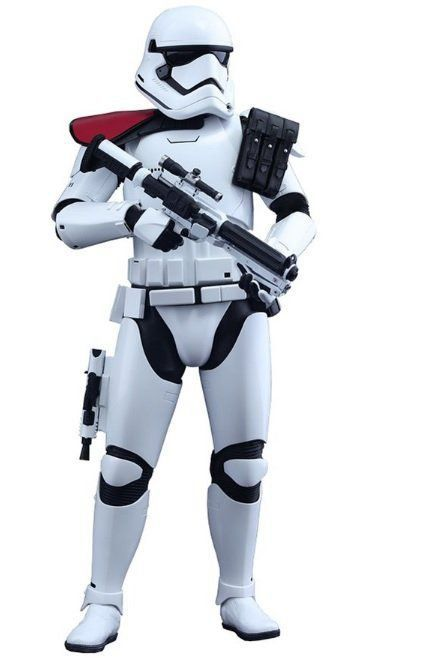 Action Figure First Order Stormtrooper Officer: Star Wars: O Despertar da Força (Escala 1/6) Boneco Colecionável (MMS334) - Hot Toys