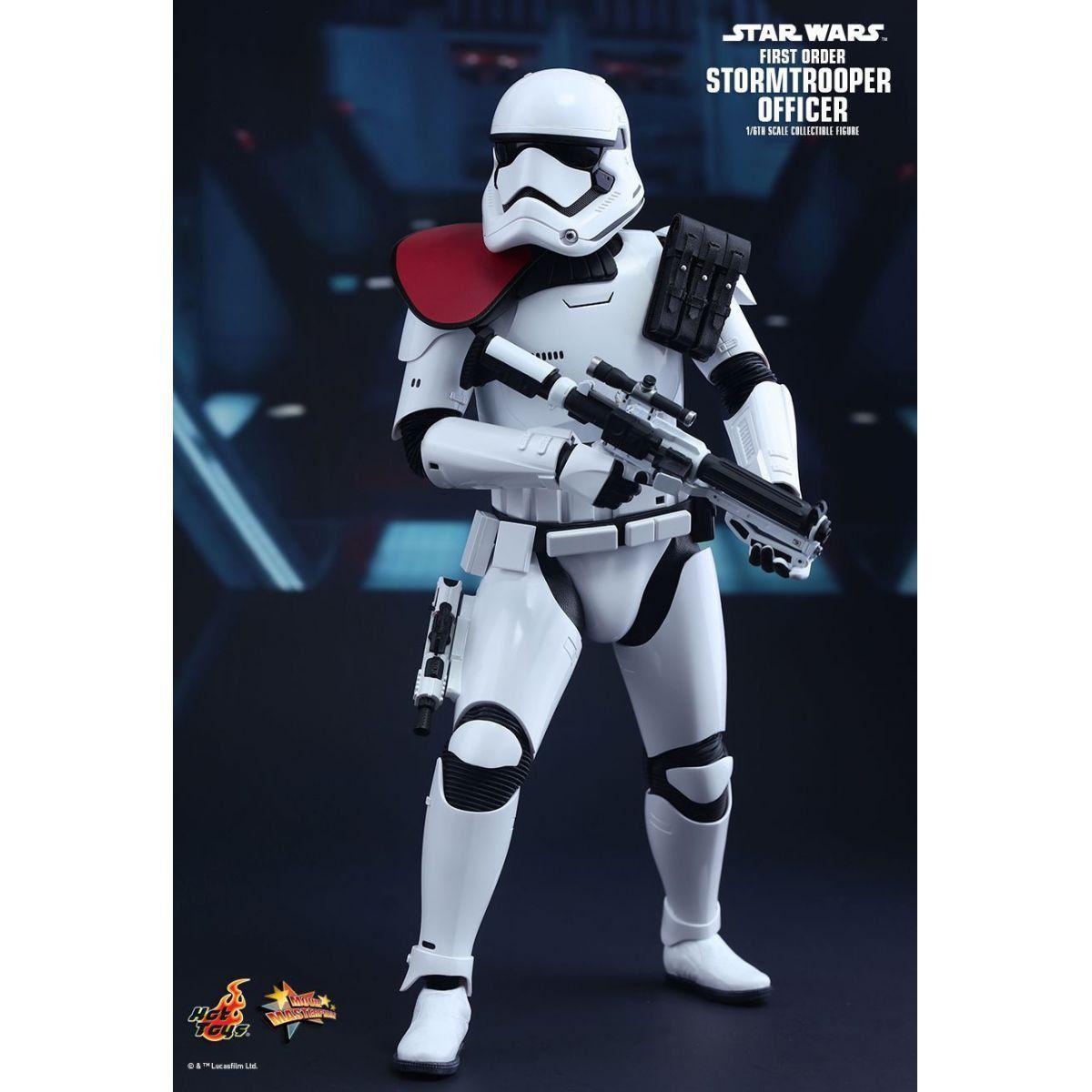 Boneco First Order Stormtrooper Officer: Star Wars: O Despertar da Força Escala 1/6 (MMS334) - Hot Toys - CD