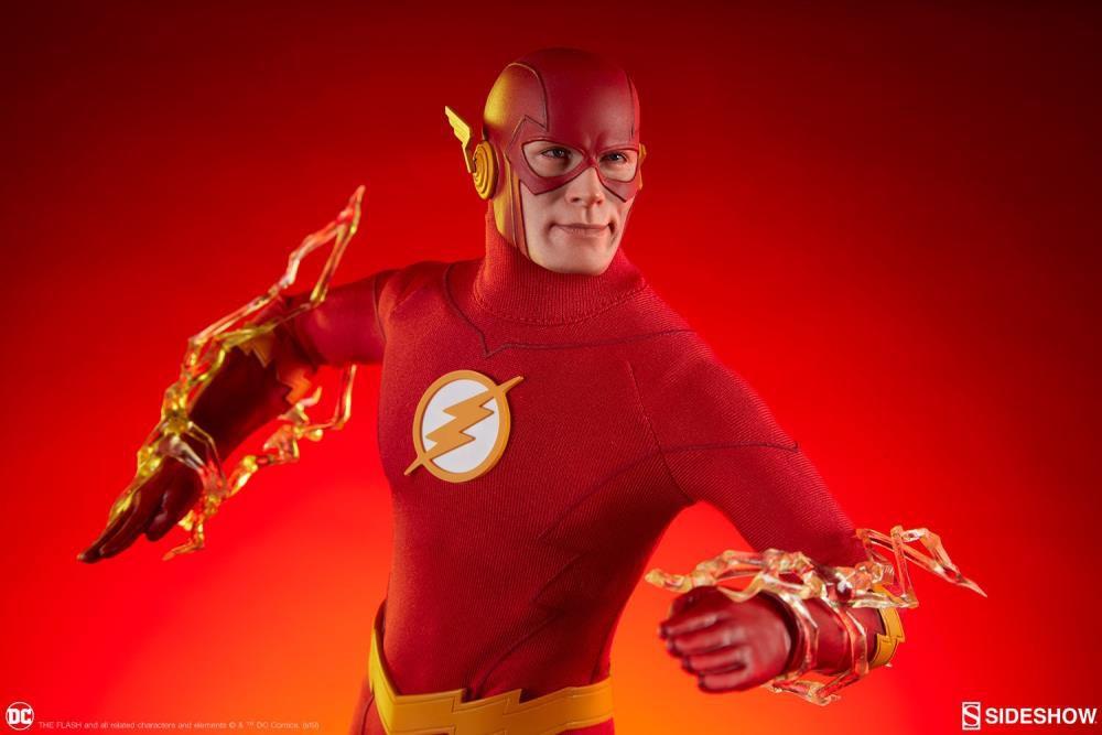 PRÉ VENDA Action Figure The Flash: DC Comics (Escala1/6) Boneco Colecionável - Sideshow