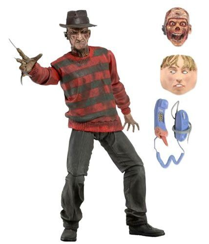 PRÉ VENDA: Boneco Freddy Krueger 7'' - Nightmare On Elm Street - NECA