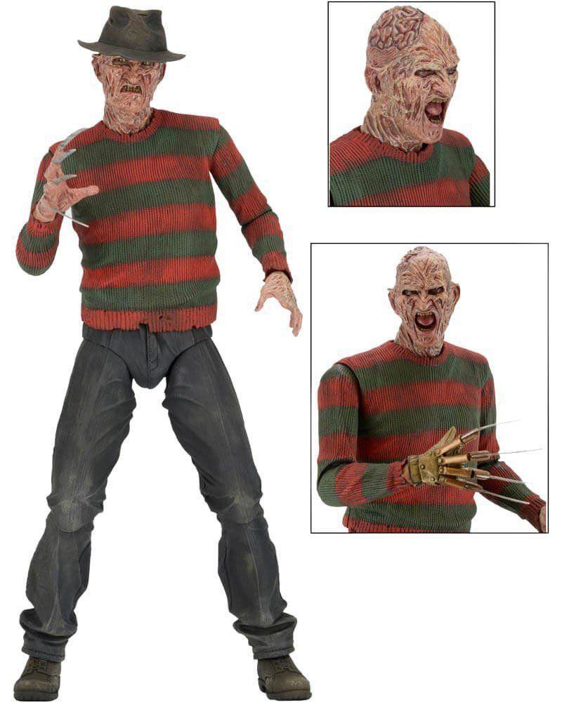 Boneco Freddy Krueger: A Hora do Pesadelo 2: A Vingança de Freddy Escala 1/4 - Neca