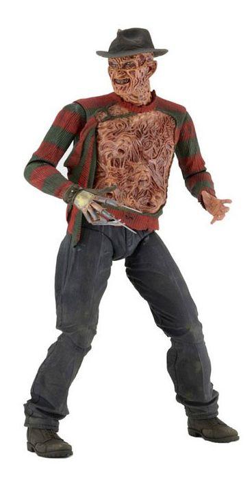 Boneco Freddy Krueger: A Hora do Pesadelo 3 Os Guerreiros dos Sonhos (A Nightmare on Elm Street 3) Escala 1/4 - Neca