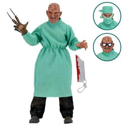 Boneco Freddy Krueger Cirurgião: Nightmare On Elm Street 4 (The Dream Master) - NECA