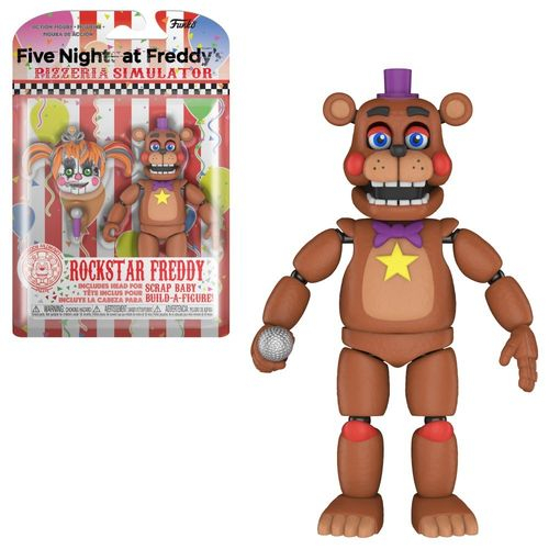 Boneco Freddy Rockstar Freddy: Five Nights At Freddy's - Funko