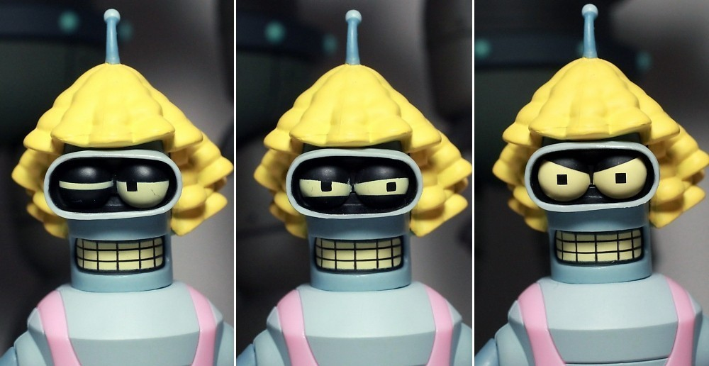 Boneco Futurama Destructor & Gender Bender Deluxe Box Set - Toynami