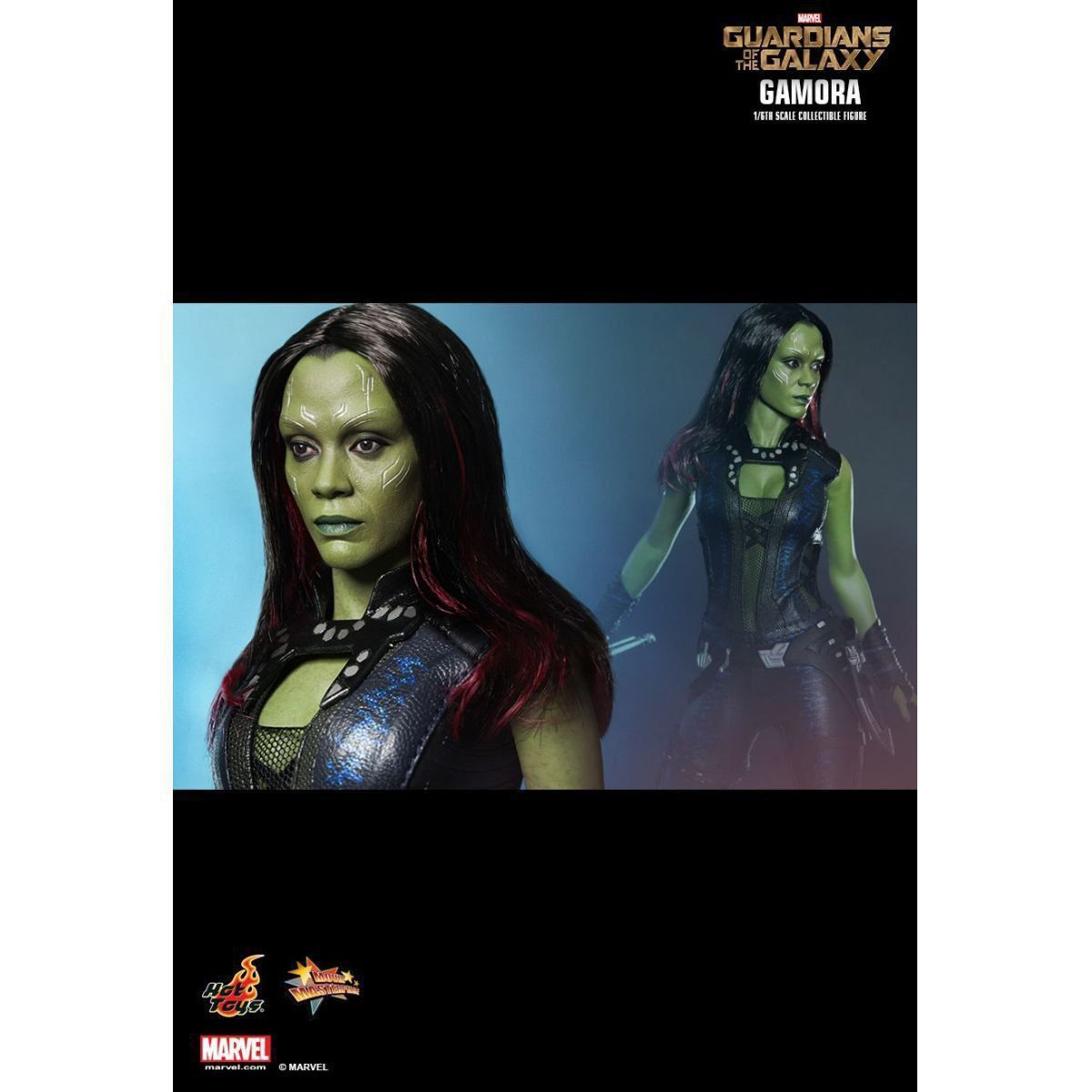 Action Figure Gamora: Guardiões da Galáxia (Guardians of the Galaxy) Escala 1/6 (MMS259) - Hot Toys