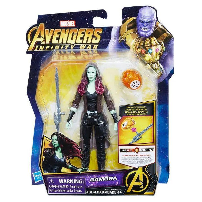 Boneco Gamora: Vingadores Guerra Infinita (Avengers Infinity War) Marvel - Hasbro