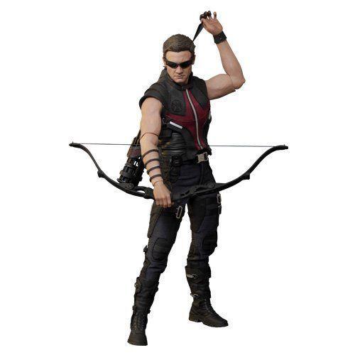 Boneco Gavião Arqueiro (Hawkeye): Vingadores (Avengers) Escala 1/6 (MMS172) - Hot Toys - CG