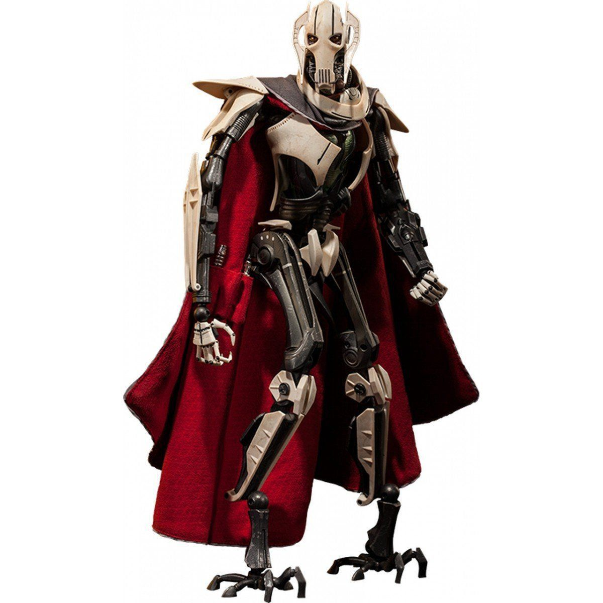 Action Figure General Grievous: Star Wars A Vingança dos Sith (Revenge of the Sith) Escala 1/6 - Sideshow