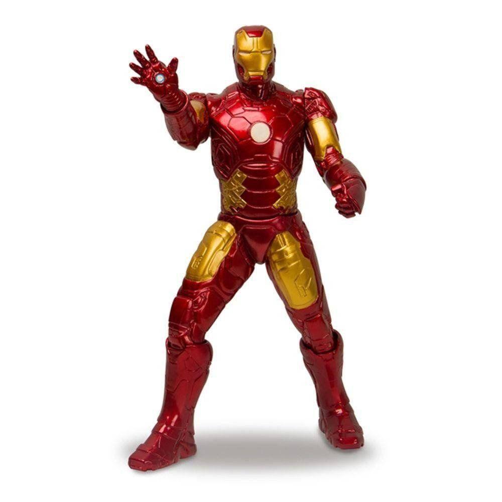Boneco Gigante Homem de Ferro (Iron Man) Revolution: Vingadores (Avengers) 40CM - Mimo