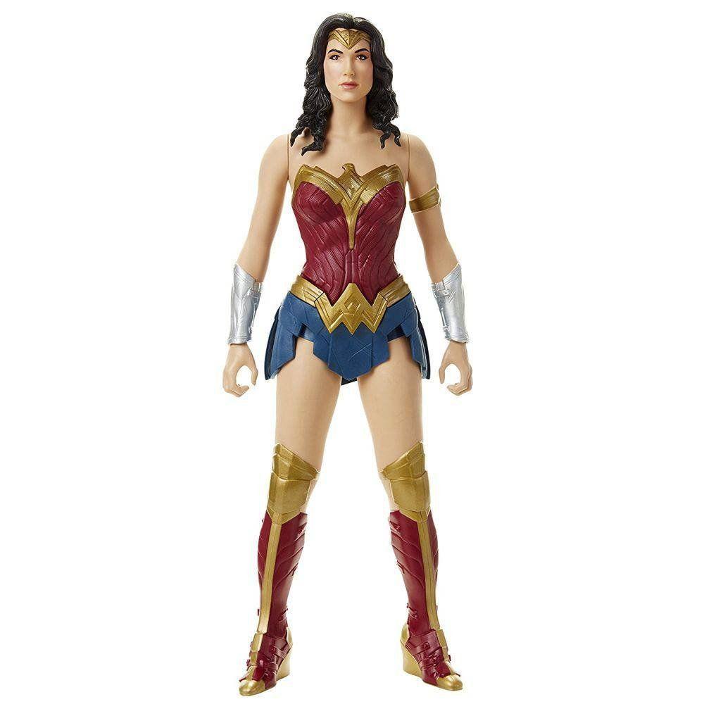 Boneco Gigante Mulher-Maravilha (Wonder Woman): Liga da Justiça (Justice League) 45CM - Mimo
