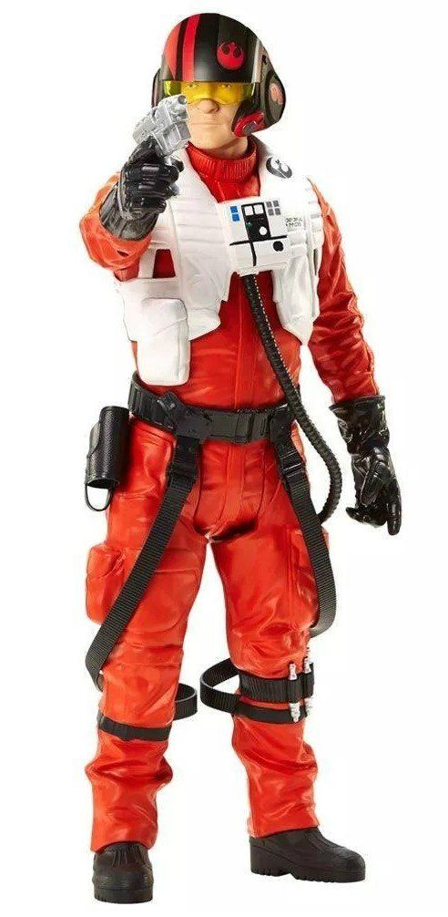 Boneco Poe Dameron: Star Wars 40CM - Mimo