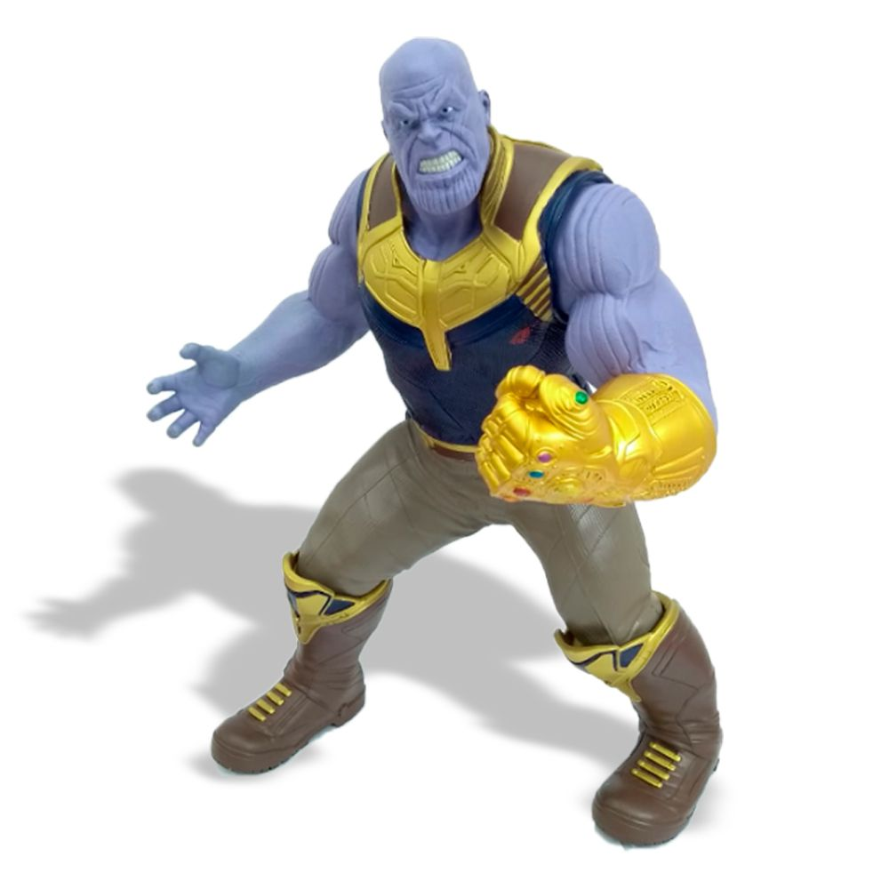 Boneco Gigante Thanos: Vingadores Guerra Infinita (Avengers Infinity War) 50CM - Mimo