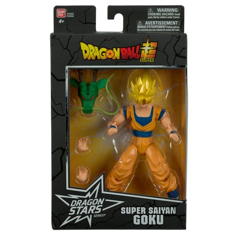 Boneco Goku Super Sayajin (Super Saiyan): Dragon Ball Super Dragon Stars Series