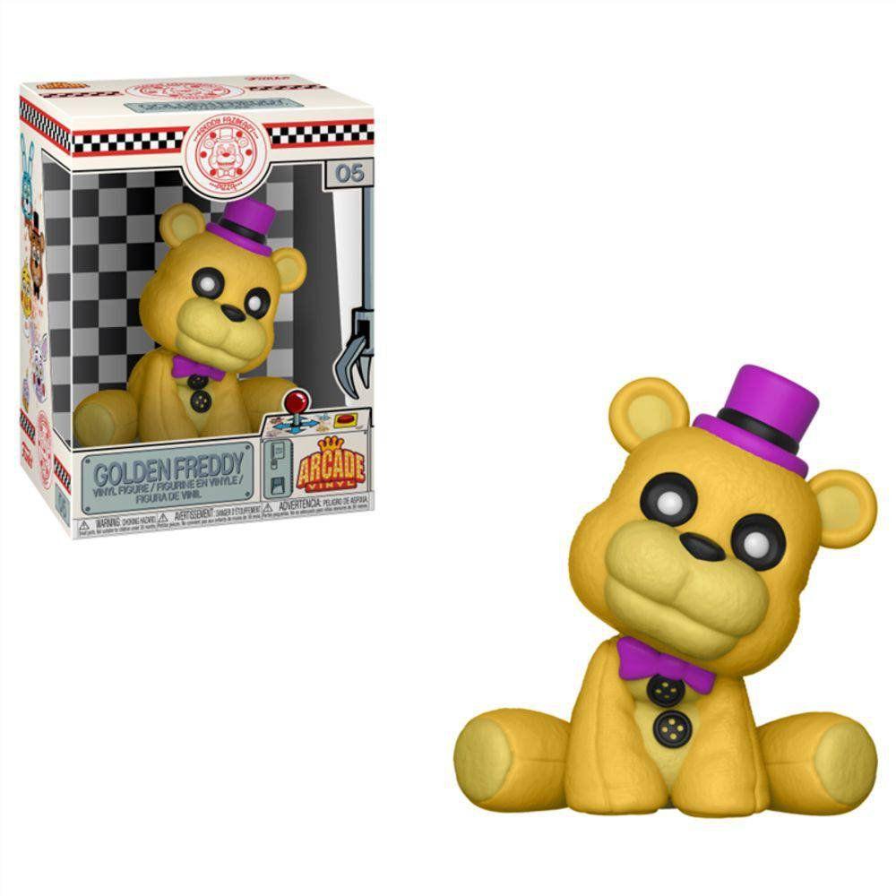Funko Boneco Golden Freddy (Arcade Vinil): Five Nights at Freddy's - Funko