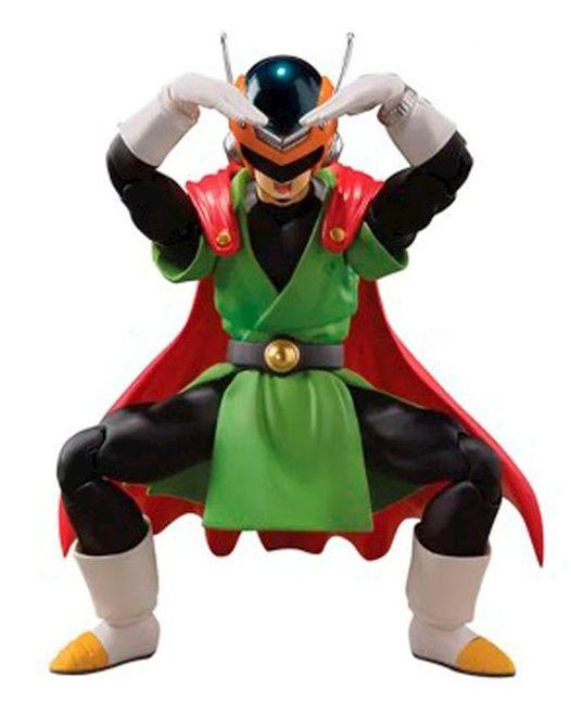 Action Figure Grande Saiyaman (Great Saiyaman): Dragon Ball Z S.H.Figuarts - Boneco Colecionável - Bandai - CD