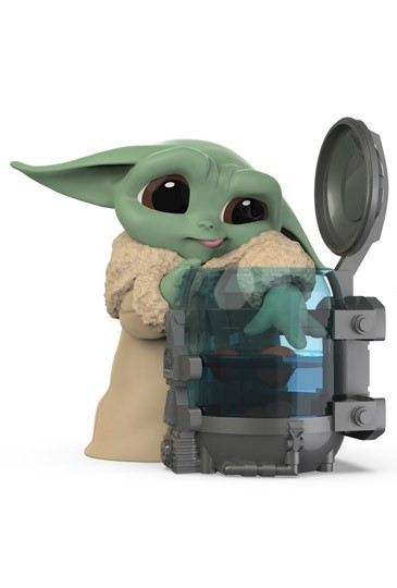 "PRÉ VENDA: Boneco Grogu ""Baby Yoda"" ""Curious Child"" (The Child): The Mandalorian (Star Wars) Serie 3 - Hasbro"