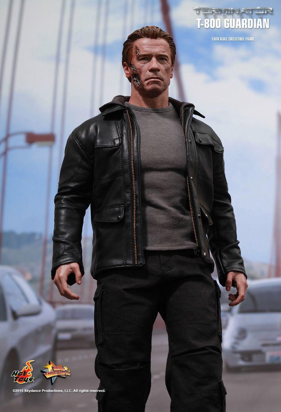 Boneco Guardian T-800: O Exterminador do Futuro: Gênesis (Terminator Genisys) Escala 1/6 (MMS307) - Hot Toys - CG